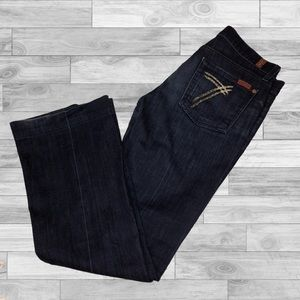 7 For All Mankind Jeans - 7 for all mankind dojo jeans size 28